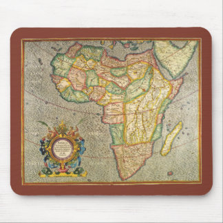 Antique Old World Mercator Map of Africa, 1633 Mouse Pad