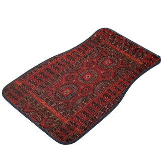 Antique Oriental rug design Floor Mat