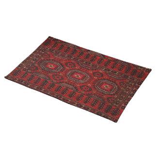 Antique Oriental rug design Placemat