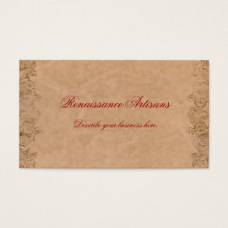 Antique Parchment Business Card