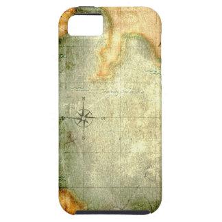 Antique Parchment  Map iPhone 5 Covers