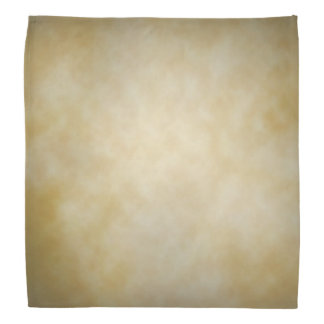 Antique Parchment Vignette Texture Background Bandana