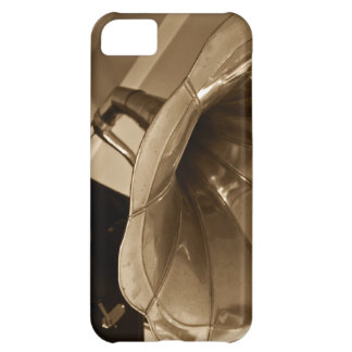Antique Phonograph Gramophone Gifts Music Lovers iPhone 5C Case