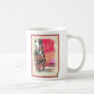 Antique Photo Poster Template Mugs