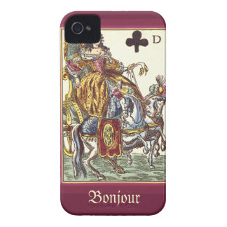 Antique Playing Card iPhone 4/4S Case