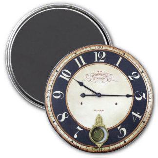Antique Pocket Watch 7.5 Cm Round Magnet