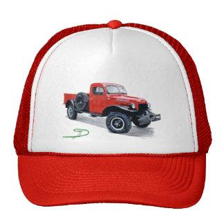 Antique Power Wagon Truck Cap Trucker Hats