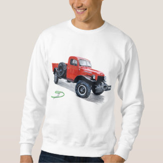 Antique Power Wagon Truck Sweatshirt