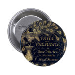 Antique Pride and Prejudice Peacock Edition Cover Buttons