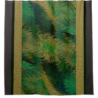Antique Queen Palm curtain