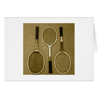 Antique Rackets Card