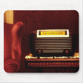 Antique Radio Mouse Pad