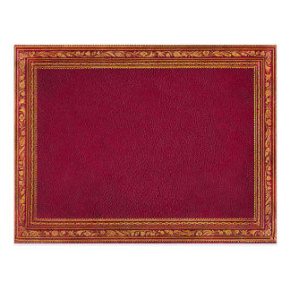 Antique Red Greeting Cards Postcard