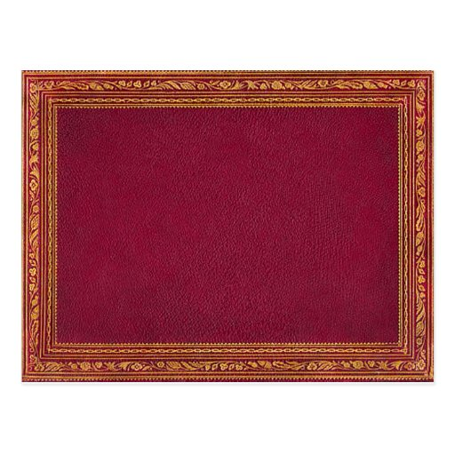 Antique Red Greeting Cards Postcards