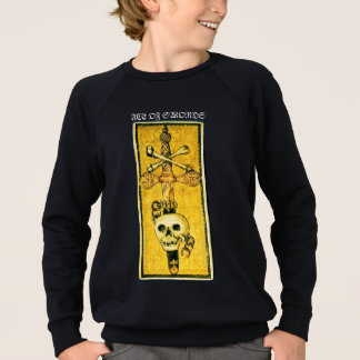ANTIQUE RENAISSANCE TAROTS /ACE OF SWORDS SWEATSHIRT