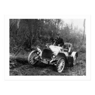 Antique Roadster, 1911 Postcard