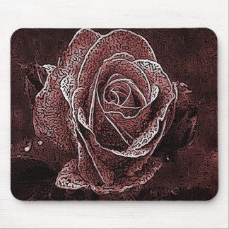 Antique Rose Mouse Pad