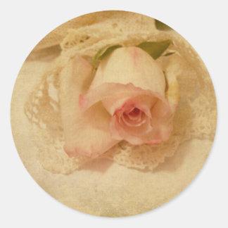 Antique Rose Stickers