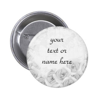 Antique roses button for your text