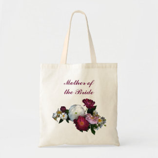 Antique Roses Mother of the Bride Budget Tote Bag