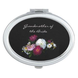 Antique Roses Wedding Grandmother of the Bride Vanity Mirror