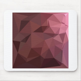 Antique Ruby Abstract Low Polygon Background Mouse Pad