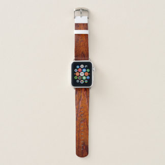 Antique Rustic Wood Grain (photo) Apple Watch Band