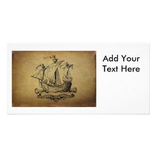 Antique Sailing Ship Photo Cards