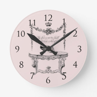 Antique Shoes Wall Clock