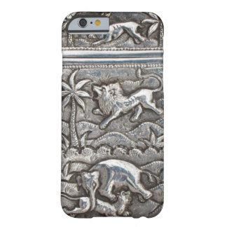 antique silver i-phone case barely there iPhone 6 case