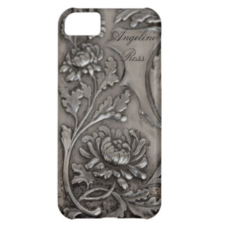 antique  silver iphone 5 case