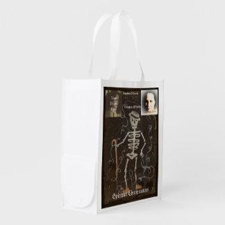 Antique Skeleton  2 Photo Customizable