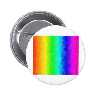 Antique Smudges Rainbow Pinback Button