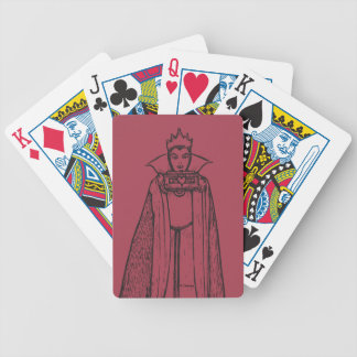 Antique Snow White | Queen Bicycle Playing Cards