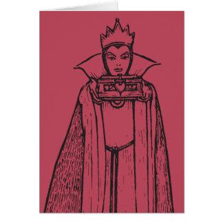 Antique Snow White | Queen Card