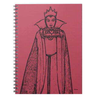 Antique Snow White   Queen Notebook
