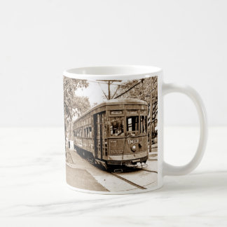 Antique Streetcar Coffee Mugs