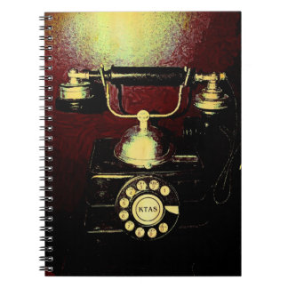 Antique Telephone Phone Number Book