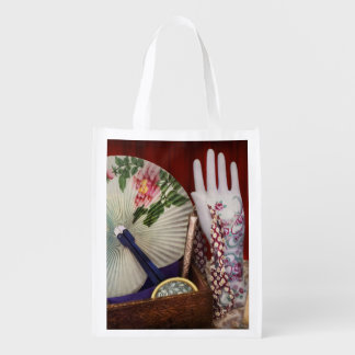 Antique - The finer things in life Reusable Grocery Bag