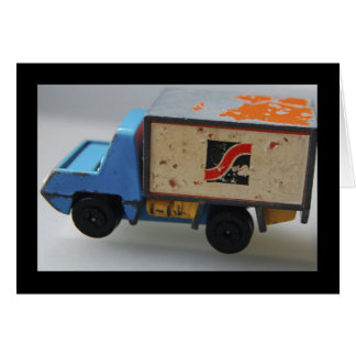 Antique Toy Truck Greeting Card