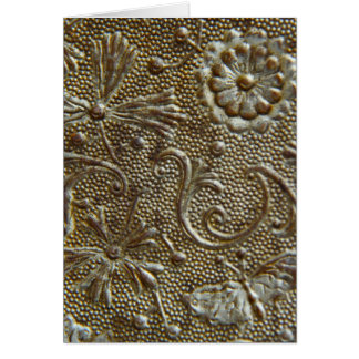Antique Trunk Decorative Patterning Card
