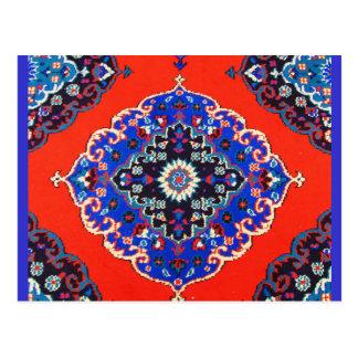 Antique Turkish Textiles Carpets Rugs Kilims Postcard