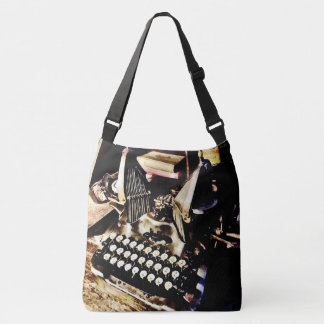 Antique Typewriter Oliver #9 Crossbody Bag