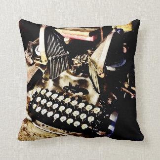 Antique Typewriter Oliver #9 Cushion