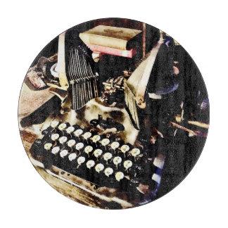 Antique Typewriter Oliver #9 Cutting Board