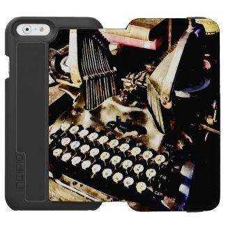 Antique Typewriter Oliver #9 Incipio Watson™ iPhone 6 Wallet Case