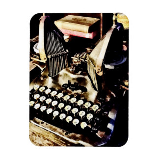 Antique Typewriter Oliver #9 Magnet