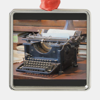 Antique Typewriter Ornament