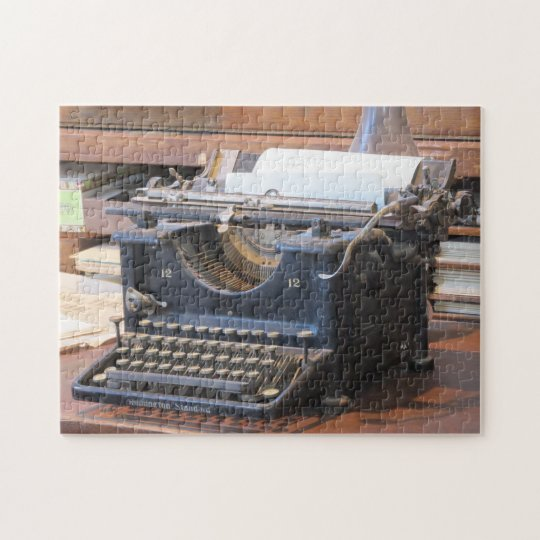 Antique Typewriter Puzzle