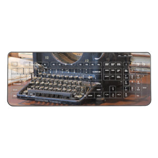 Antique Typewriter Wireless Keyboard